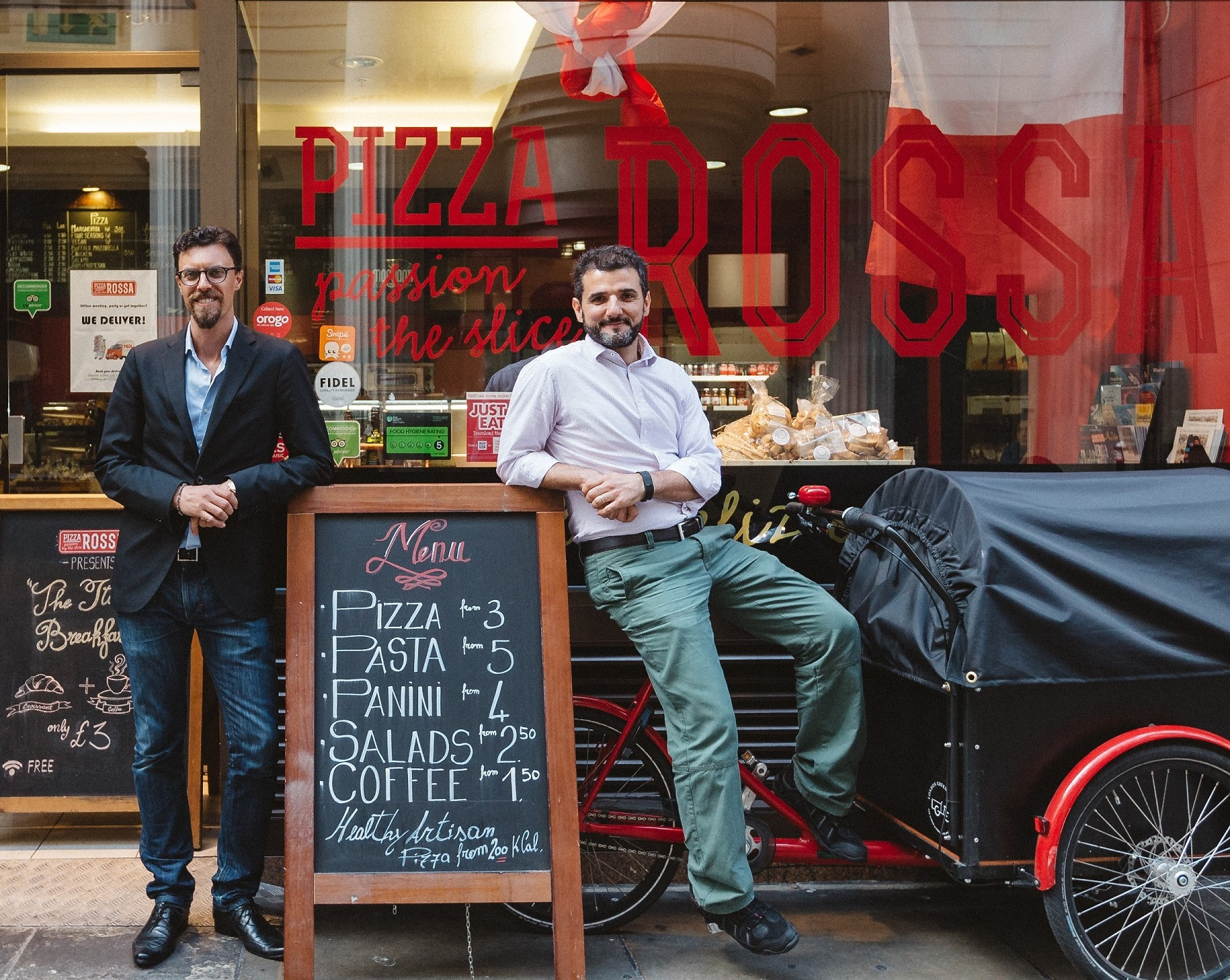 AETHOS Consulting Group_Entrepreneurs Corner_In Conversation With Pizza Rossa Founder Corrado Accardi_Thomas Mielke Managing Director
