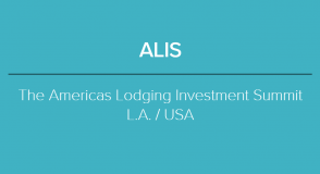 2019 ALIS - THE AMERICAN LODGING INVESTMENT SUMMIT